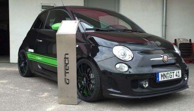 Fiat 500 Abarth con 350CV e 980Nm: le proteine a trazione integrale di G-Tech