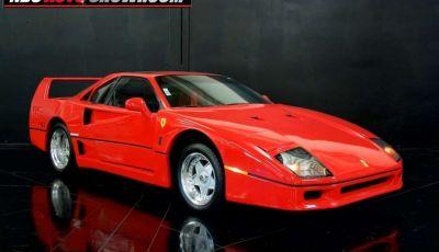 Ferrari F40, la replica su base Pontiac Fiero costa 13.000 euro
