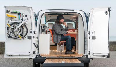 Nissan e-NV 200 WORKSPACe: l'ufficio mobile a zero emissioni