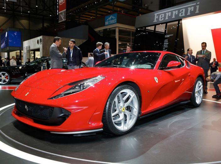 Ferrari 812 Superfast: la berlinetta V12 da 800CV