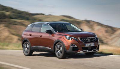 Peugeot 3008: tutti gli allestimenti, i motori ed i prezzi