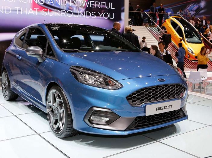 Nuova Ford Fiesta ST, debutta la nuova generazione