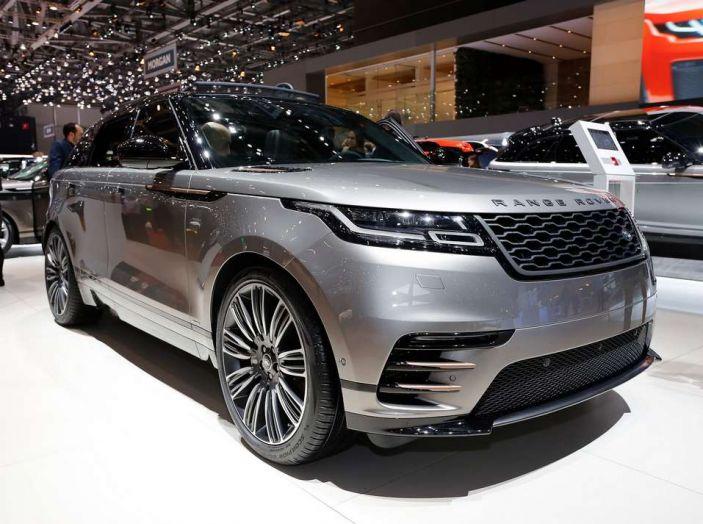 Range Rover Velar, il nuovo SUV di Land Rover