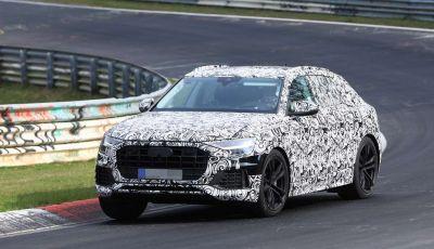 Audi Q8: i test drive del SUV proseguono al Nurburgring