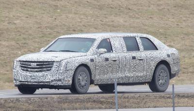 The Beast, la Limousine di Donald Trump su base Cadillac