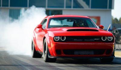 Dodge mette in cantiere la Challenger Demon elettrica per battere Tesla