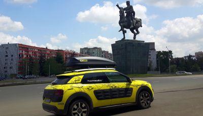 Citroën Avventura Gialla 2017: la C4 Cactus dal Mar Nero al Mar Caspio