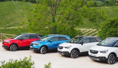 Opel Crossland X, prova su strada del nuovo SUV compatto