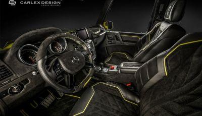 Brabus G500 4×4² con interni Carlex Design: un sogno proibito
