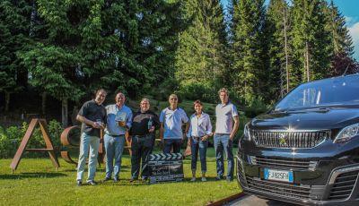 Peugeot Traveller sulla via del gusto insieme a Loison, Maculan, Nardini, Rigoni e Pennar