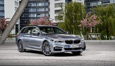 Nuova BMW Serie 5 Touring: Business Class su quattro ruote