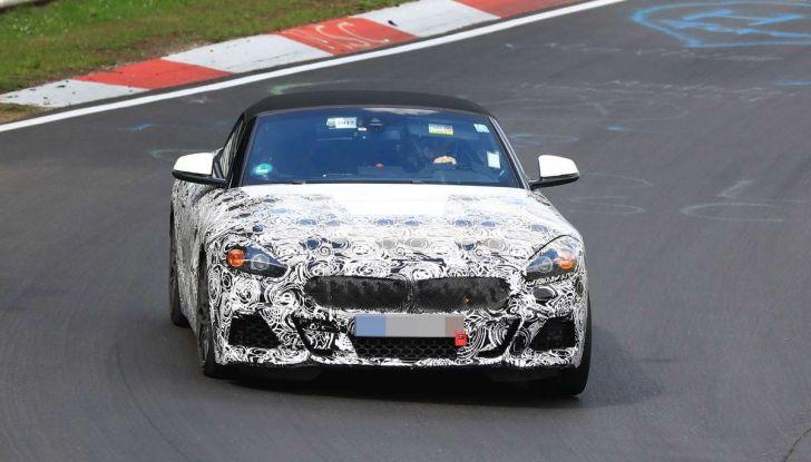 BMW Z5, prime immagini e dettagli della roadster tedesca - Foto 5 di 18