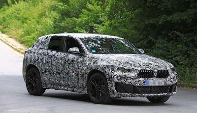 BMW X2 2018, le prime foto spia del SUV coupé