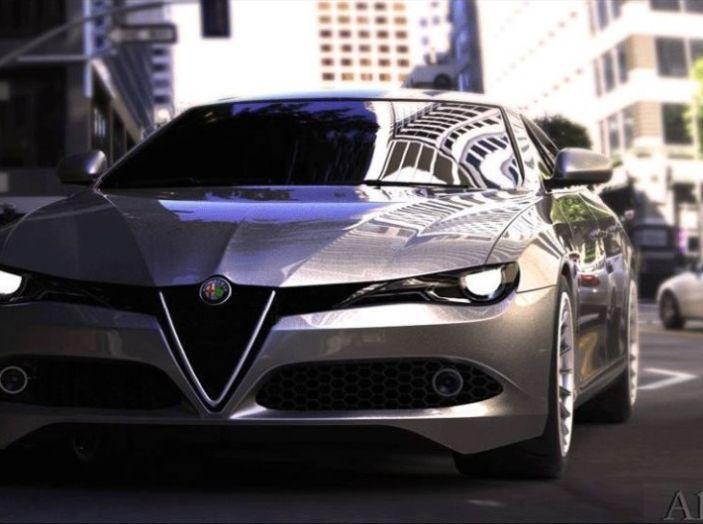 Alfa Romeo Alfetta Il Rendering Dell Ammiraglia Del