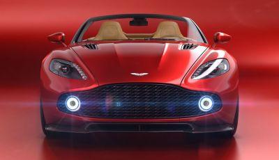 Aston Martin Vanquish Zagato Volante: serie limitata da 99 esemplari