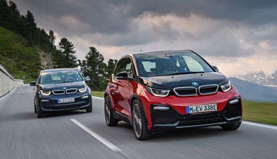Nuova BMW i3 e i3s: l'elettrica diventa più aggressiva e tecnologica