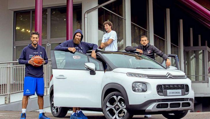 Citroën C3 Aircross partner della Nazionale italiana a EuroBasket - Foto 1 di 6