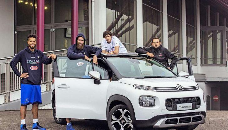 Citroën C3 Aircross partner della Nazionale italiana a EuroBasket - Foto 5 di 6