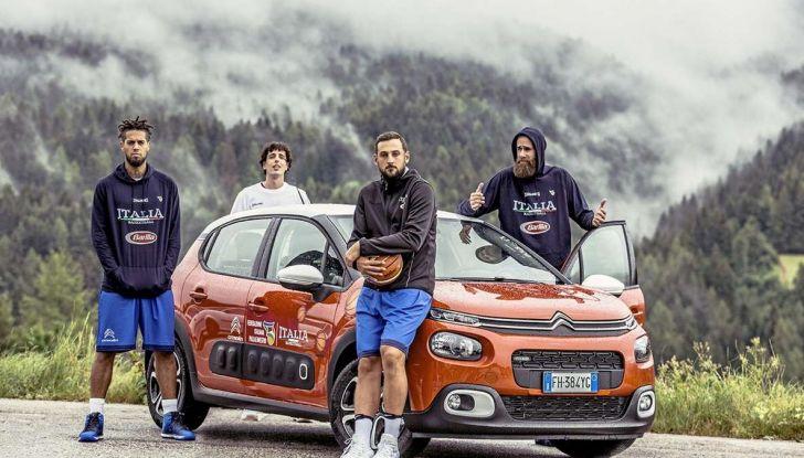 Citroën C3 Aircross partner della Nazionale italiana a EuroBasket - Foto 2 di 6