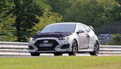 Hyundai Veloster N, proseguono i test di sviluppo della variante sportiva