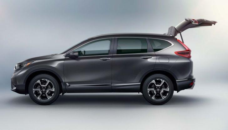 Nuova Honda CR-V 2018: tutte le info sul nuovo SUV di Tokyo - Foto 7 di 9