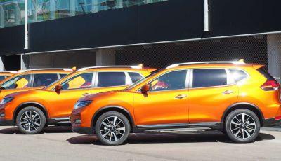 Nissan X-Trail 2018: Prova su strada, opinioni e dati tecnici del SUV 5 o 7 posti