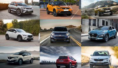 I 10 migliori SUV e Crossover compatti sotto i 20.000€