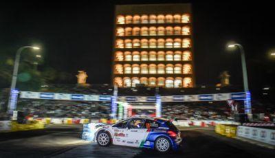 E' iniziato il Rally di Roma – Peugeot da subito all'attacco