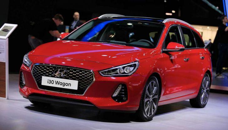 Nuova Hyundai i30 Wagon la familiare segmento C si rinnova - Foto 1 di 11