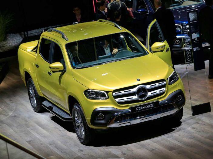 Mercedes Classe X, dettagli e informazioni del nuovo pick-up tedesco
