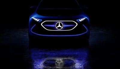 Mercedes EQ A Concept al Salone di Francoforte 2017