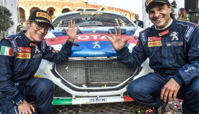 Paolo Andreucci campione italiano rally con Peugeot 208 T16