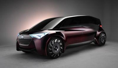 Auto a idrogeno, arriva la Fine-Comfort Ride di Toyota