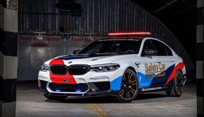 La nuova BMW M5 xDrive è Safety Car della MotoGP 2018