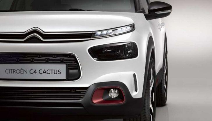 Citroen C4 Cactus restyling, nuovo design e più tecnologia - Foto 10 di 19