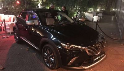 Mazda rende fashion la sua crossover CX-3 grazie a Pollini