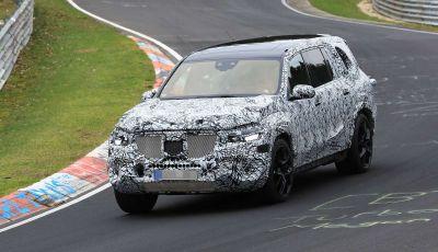 Mercedes GLS 2019, nuove immagini spia del maxi SUV