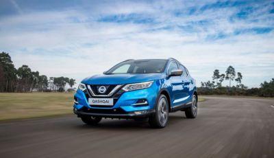 Nissan Qashqai in promozione: da 19.250€ con rate da 189€ al mese