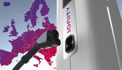 BMW, MINI, Mercedes, Smart, Ford,  Audi e Porsche insieme a IONITY per le ricariche rapide europee