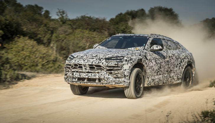 Lamborghini Urus Performante arriva nel 2021 - Foto 24 di 27