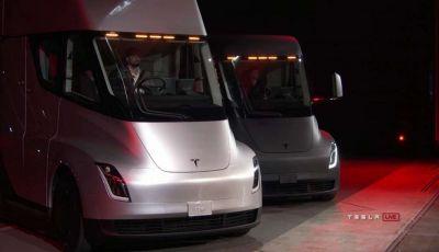 Tesla Semi: il camion con un'accelerazione da record
