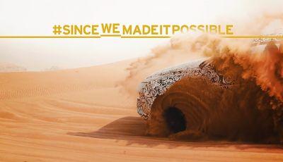 Lamborghini Urus, il SUV sportivo si scatena tra le sabbie delle dune