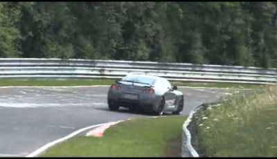 Nissan GT-R spy video