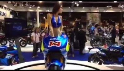 Lo stand Suzuki tra i più ricchi di Eicma 2014