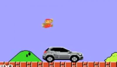 Mercedes GLA protagonista del videogame SuperMario in uno spot pubblicitario