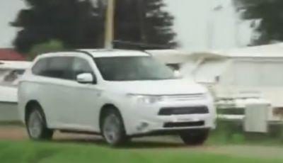 Mitsubishi Outlander PHEV prova su strada