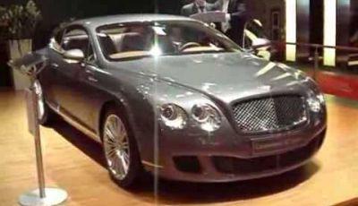 Video Bentley al MotorShow di Bologna 2007