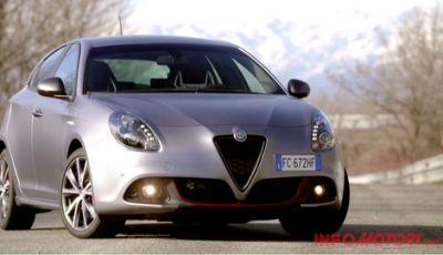 Alfa Romeo Giulietta 2016 Restyling: La prova in pista