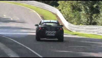 Video spy della Opel Astra OPC