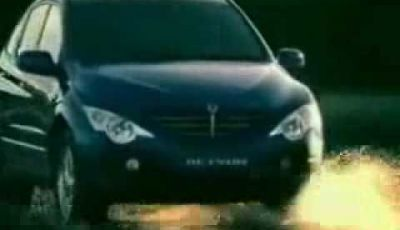 Video Ssangyong Actyon